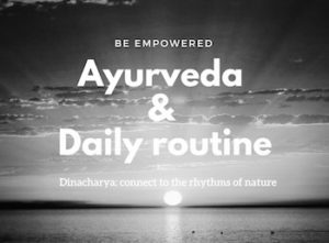 Ayurveda & daily routine afb copy